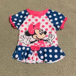 Minnie Mouse bathing suit cover